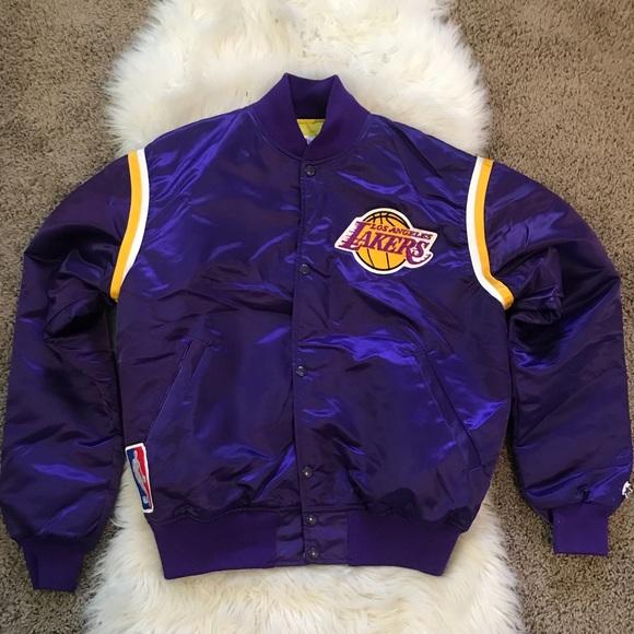 Nba Jackets Coats Vintage Lakers Starter Poshmark